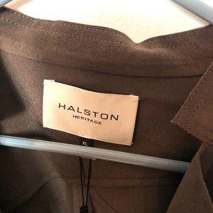 Halston Heritage Jackets & Coats - Halston Heritage NWT ultra suede open jacket